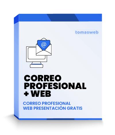 Correos Profesionales + Web presentación GRATIS