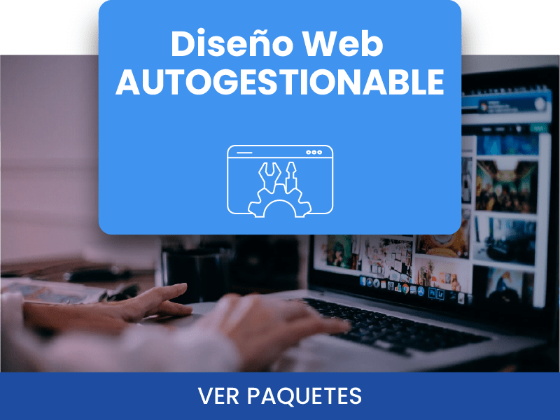 DISEÑO WEB AUTOGESTIONABLE