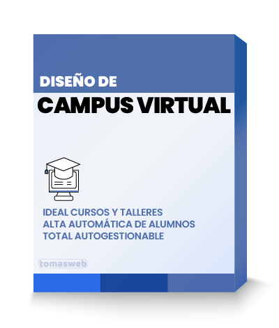 Diseño Web Campus Virtual