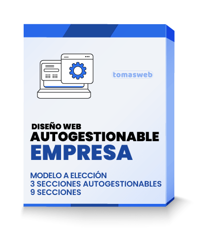 Diseño Web autogestionable Empresa