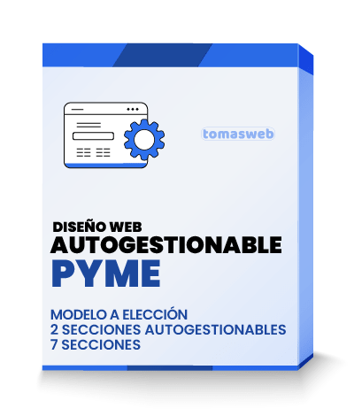 Diseño Web autogestionable Pyme