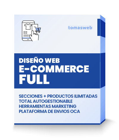 Diseño Web e-commerce Full