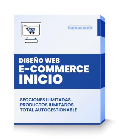 Diseño Web e-commerce inicio