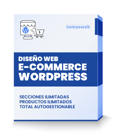 Diseño Web e-commerce WordPress