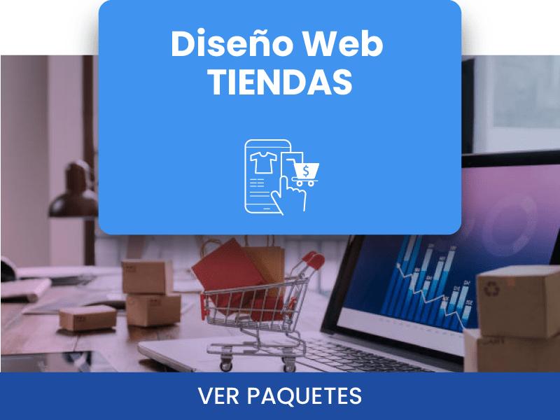DISEÑO WEB TIENDAS