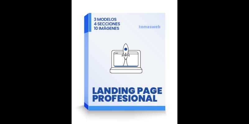 Diseño web landing page